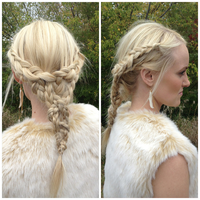 GAME OF THRONES INSPIRED HALLOWEEN - HAIR POST