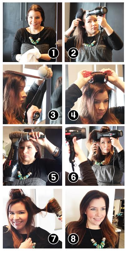 DIY Blowout How To