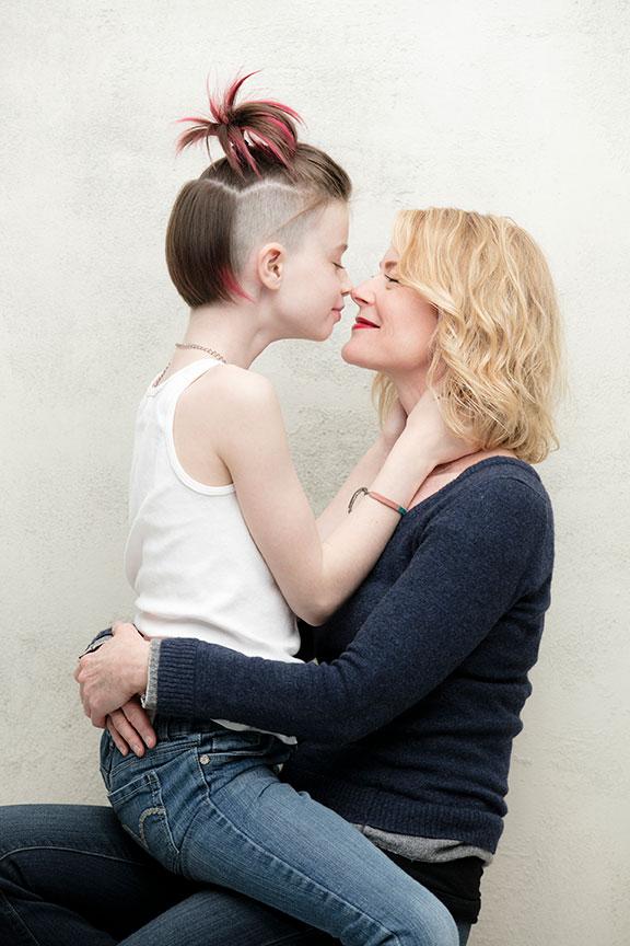 Hazel and Mama